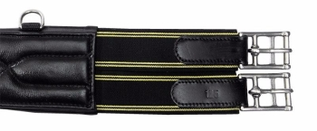 "Leather Long Girth Soft ""comfort"" with two sided threefold elasticated inserts (£83.33 Exc VAT & £100.00 Inc VAT) Product Code 143 11"