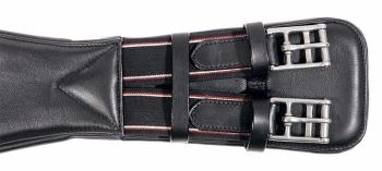 Leather short soft girth - Black (£66.67 Exc VAT & £80.00 Inc VAT) Product Code 143 02