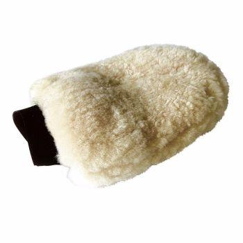 Lambswool grooming glove in nature (£10.00 Exc VAT & £12.00 Inc VAT) Product Code 698 02