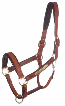 "Leather Head Collar Soft ""Nordic"" (£43.33 Exc VAT & £52.00 Inc VAT) Product Code 281 03"