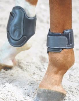 "Leather Hind Leg Protection Boots SOFT ""Dekor"" (£43.33 Exc VAT & £52.00 Inc VAT) Product Code 323 04"