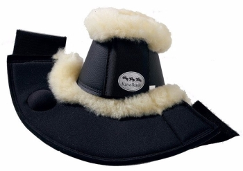 Overreach boots with real lambswool (£39.58 Exc VAT & £47.50 Inc VAT) Product Code 341 03