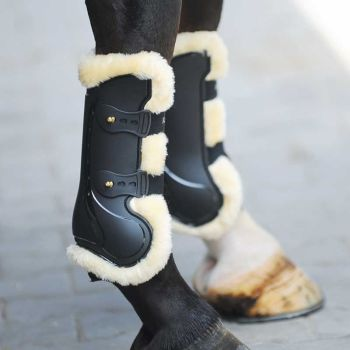 "Brushing Boots ""Competition'n Wool"" Front Legs (£44.17 Exc VAT & £53.00 Inc VAT) Product Code 321 23"