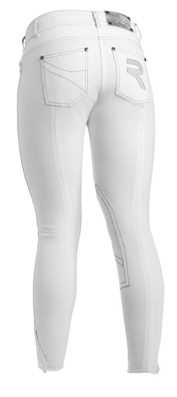 gersemi sunny breech white knee patch back