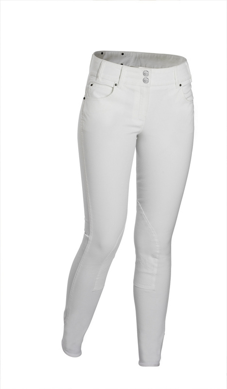 gersemi sunny breech white knee patch front