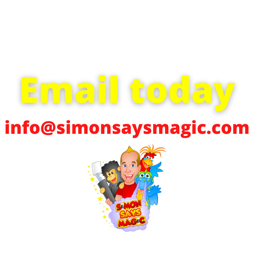 contact us today to find out how we can make your child's party fantastic and hassle free