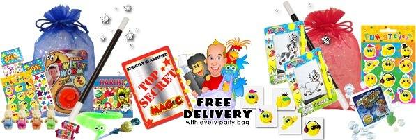 Simons Magic Party Bags