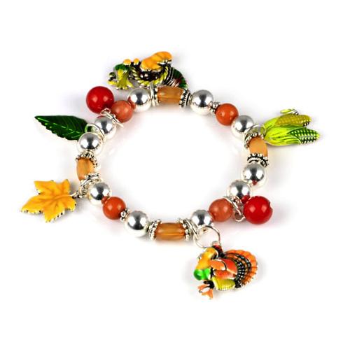 Turkey Charm Bracelet