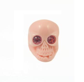 Large Pink Skull Ring