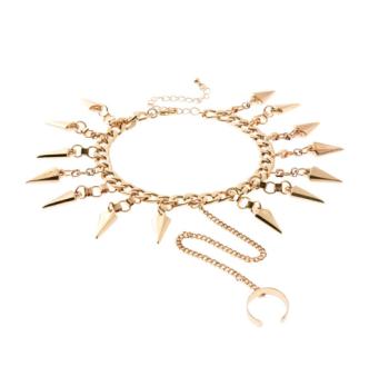 Spiked Ankle Bracelet