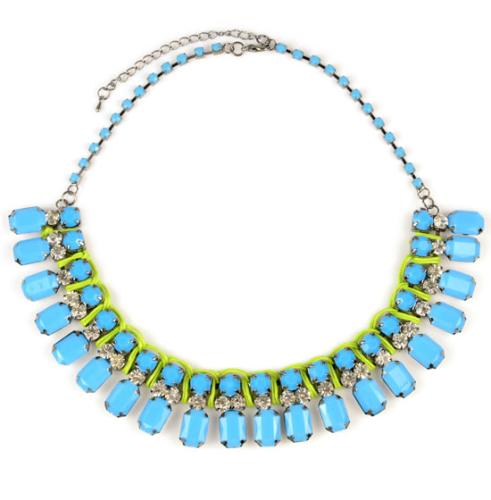 Neon Blue Collar