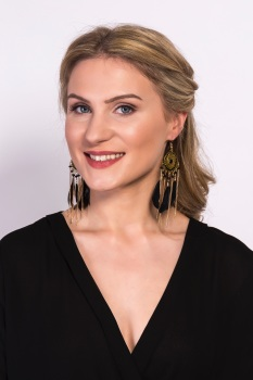 Black Feather Statement Earrings