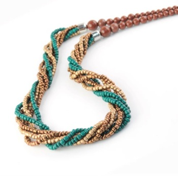 Twist Bead Necklace