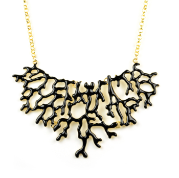 Black Coral Necklace