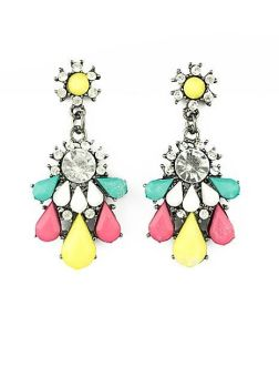 Cover Me Crystal Earrings