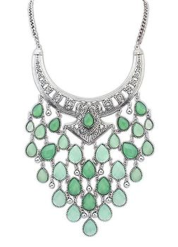 Dance The Night Away Mint Necklace