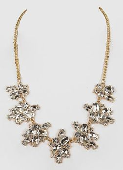 Statement Collar Crystal Necklace