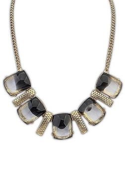 Smoke Ombra Vintage Necklace