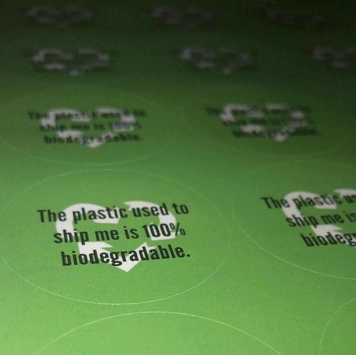 Biodegradable Plastics - Emi Jewellery