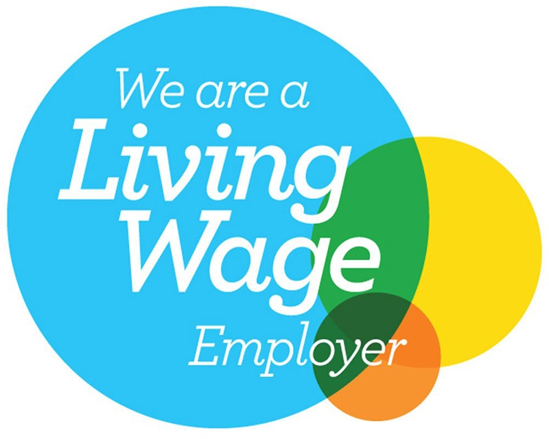 We're a Living Wage Employer