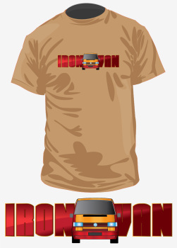 Iron Van Tshirt