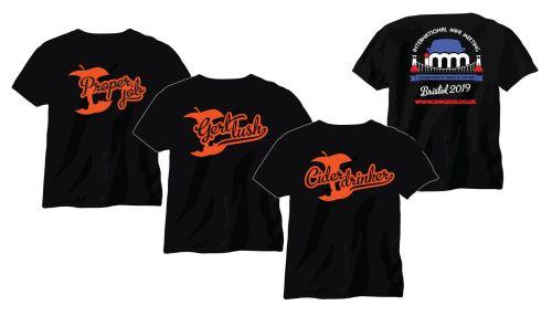 IMM2019 Black T Shirt
