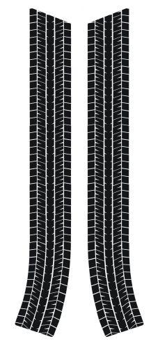 Classic Mini Tyre Tread Bonnet Stripes