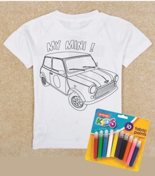 colouring in kids T shirt