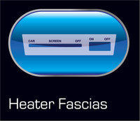 Heater Fascia Decals