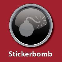 Sticker Bomb !