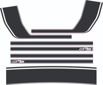 South African GTS stripe set