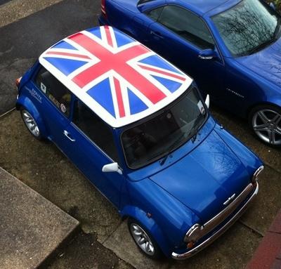 The Clic Union Jack Roof Still Looks Good On Any Mini