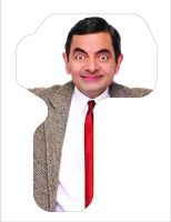 Classic Mini Weather Shield Mr Bean