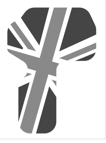 Classic Mini Weather Shield Union Flag Grey