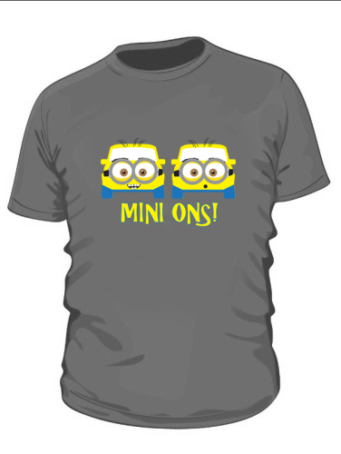 Mini ons T Shirt