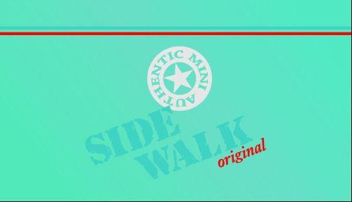 Mini Sidewalk Kit with Pinstripe