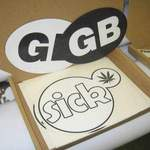 reefer graphics and GB badges