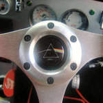 pink floyd sterring wheel centre