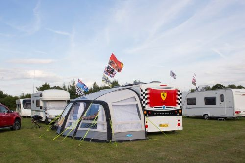 F1 Camping Pitches 2022
