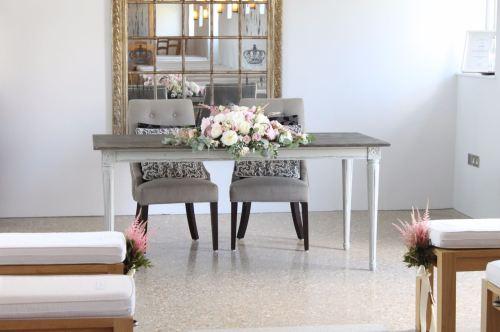 ceremony table