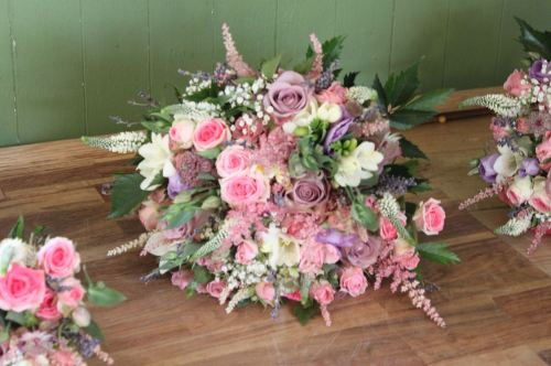 country garden brides bouquet