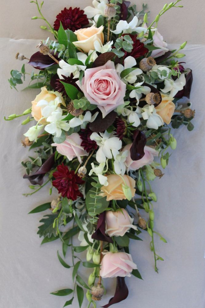 brides shower bouquet