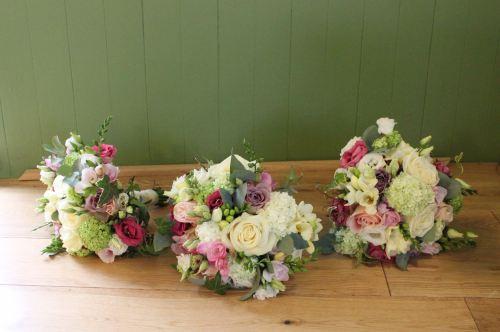 summer bridesmaids bouquet