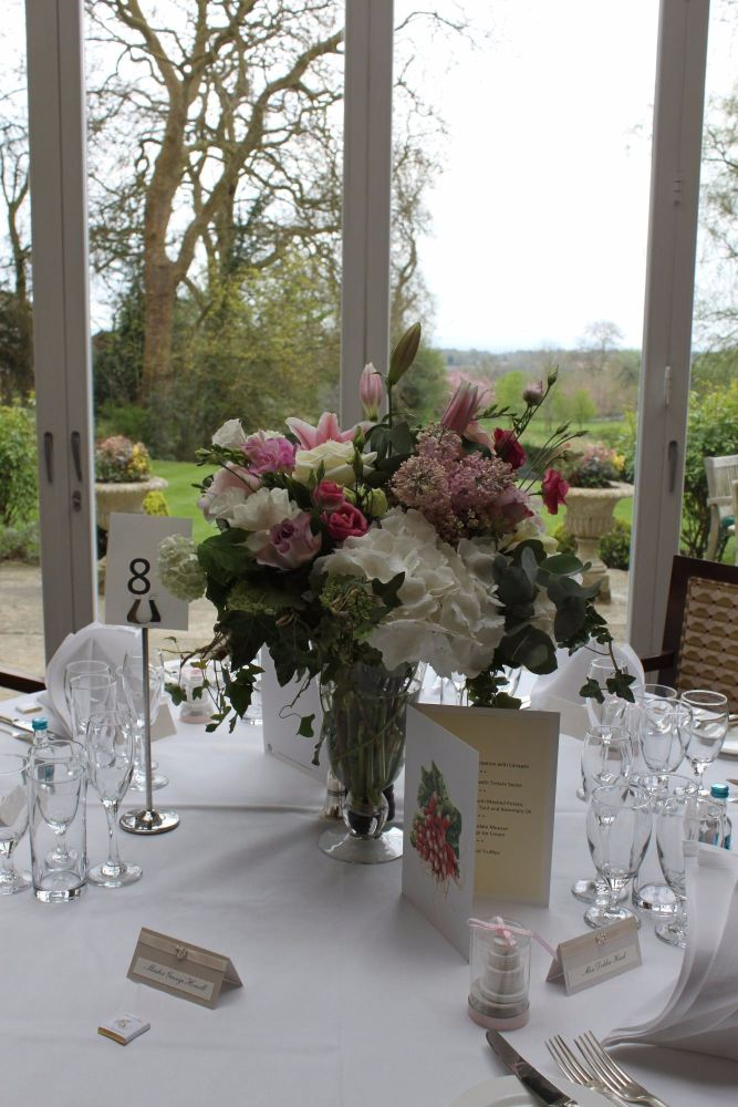 vases at ockenden manor