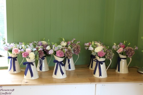 mixed rose jugs