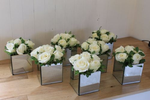 avalanche rose mirror cube arrangements