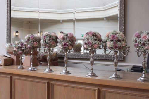 mini candelabras hotel du vin