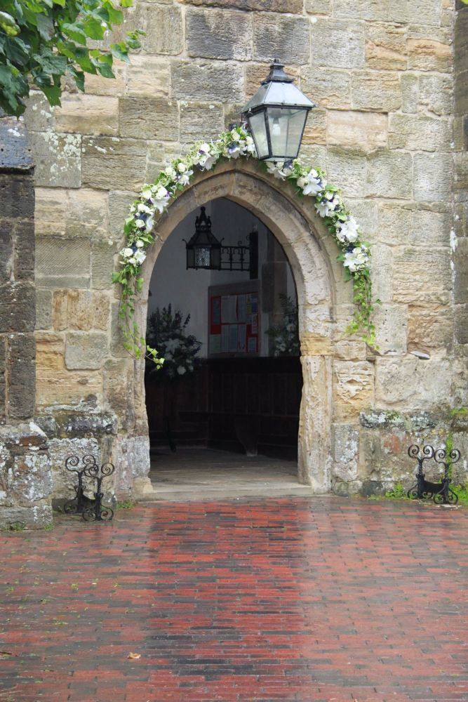floral arch all saints lindfield
