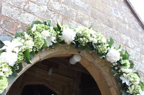 floral arch wivelsfield church
