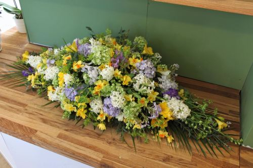 narcissi and hyacinth spray
